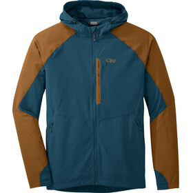 Outdoor Research M's Ferrosi Hooded Jacket Peacock/Saddle